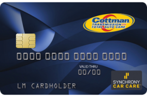 Synchrony Car Care Card Image